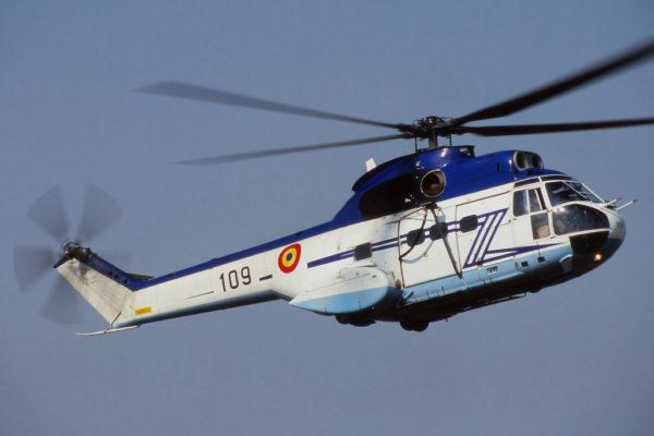 Puma roumain, fabriqué localement sous licence par IAR.