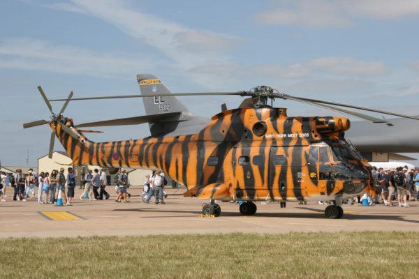 Un Puma britannique lors du Tiger Meet 2005.