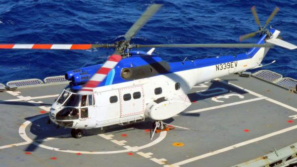 Puma privé américain utilisé dans le courant des années 1990 et 2000 pour du transport offshore.