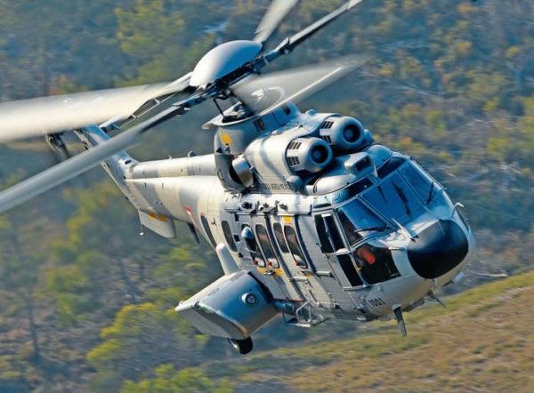 Eurocopter EC725 Cougar mexicain, l'une des plus impressionnantes évolutions du Puma.