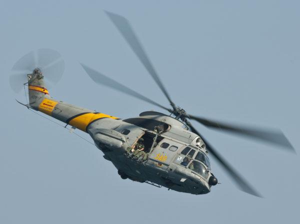 Puma espagnole de recherche et de sauvetage.