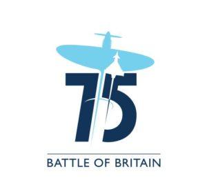 Logo officiel du 75 anniversaire de la Bataille d'Angleterre.