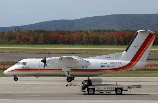 Aéroport Québec Dash8 Air Inuit