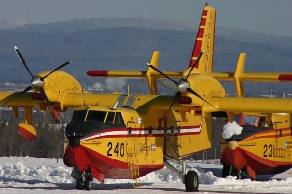 Aéroport Québec SAGQ CL-415 2