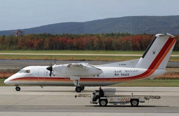 Aéroport Québec Dash8 Air Inuit