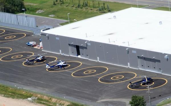 Aéroport Québec Héliport