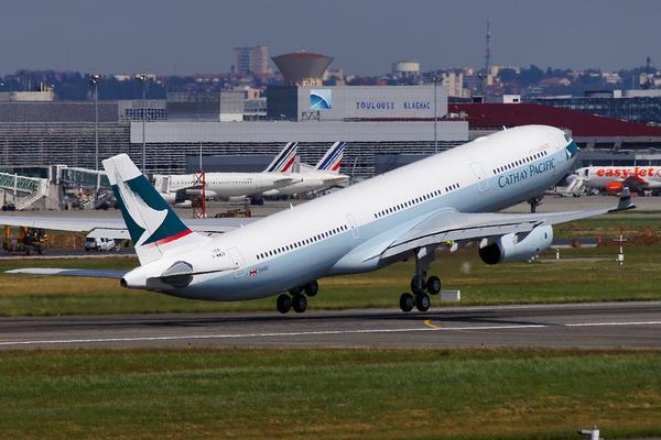 Le millième A330 quitte son nid toulousain pour rejoindre Hong-Kong.