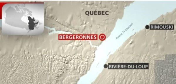 Air Saguenay bergeronnes-carte-ecrasement