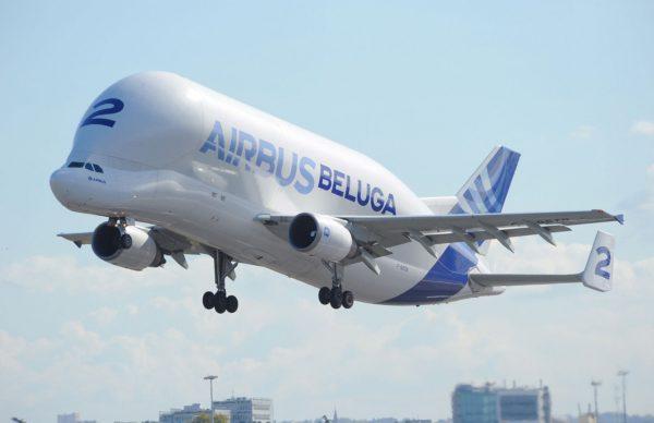 L'une des machines emblématiques du constructeur européen : l'A300-600ST alias Bélouga.