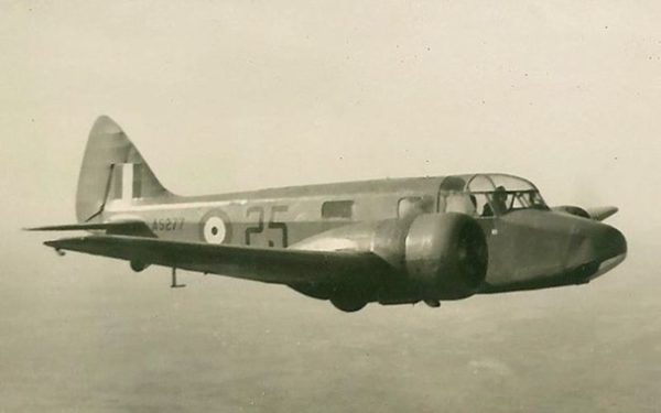 BCATP Airspeed Oxford