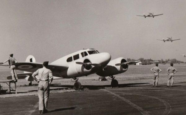 BCATP Cessna Crane
