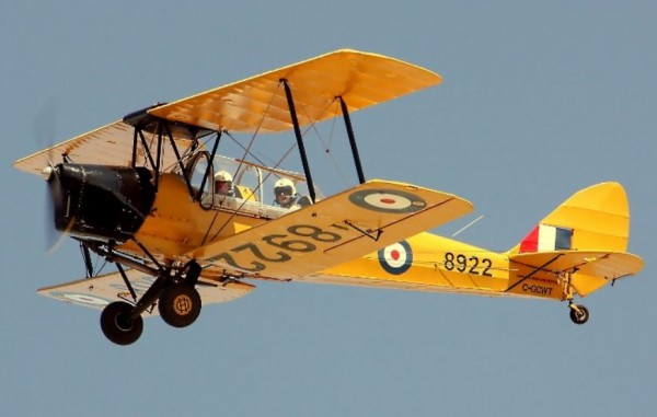 BCATP De Havilland DH-82 Tiger Moth2