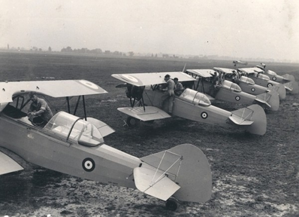 BCATP Fleet Finch RCAF
