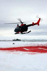 """MBB Bö105CBS """"polaire"""" en action."""