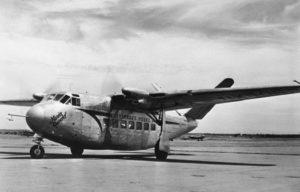 Prototype du Beechcraft Twin Quad.