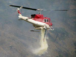 Bell 412 en action.