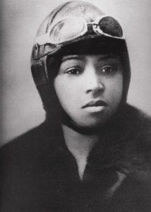 L'aviatrice américaine Bessie Coleman.