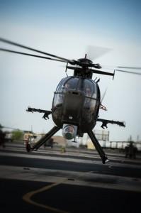 Boeing AH-6I, lors de son premier vol.