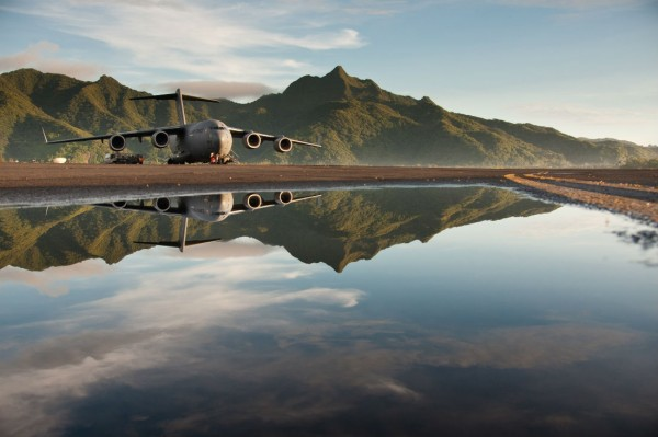C-17-reflection