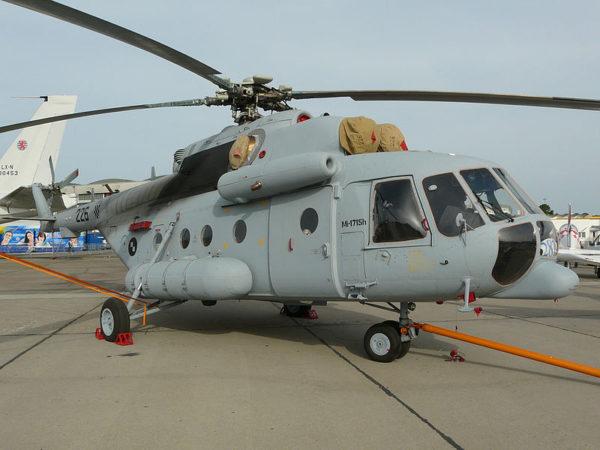 Mil Mi-171 de transport et d'assaut.