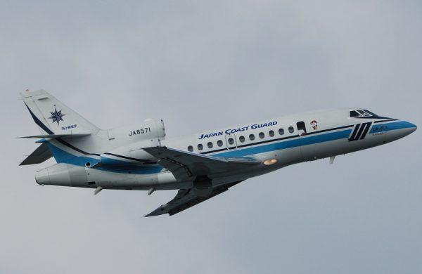 On remarquera la très élégante livrée des aéronefs de la JCG.