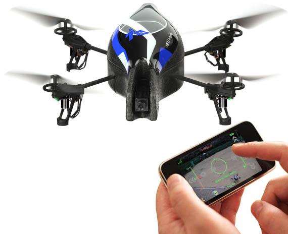 Certains de ces drones légers se pilotent même grâce à une application de smartphone.