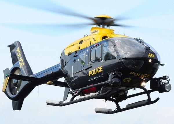 Eurocopter EC135T de la police écossaise.
