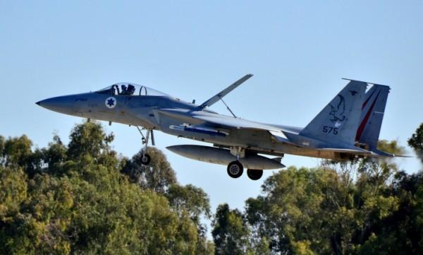McDonnell Douglas F-15A Baz du Tayeset 106 sur sa base de Tel Nof.