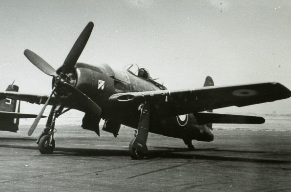 Grumman F8F Bearcat de l'Armée de l'Air.
