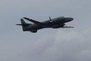 Le Fairchild C-26A de reconnaissance du RSS.