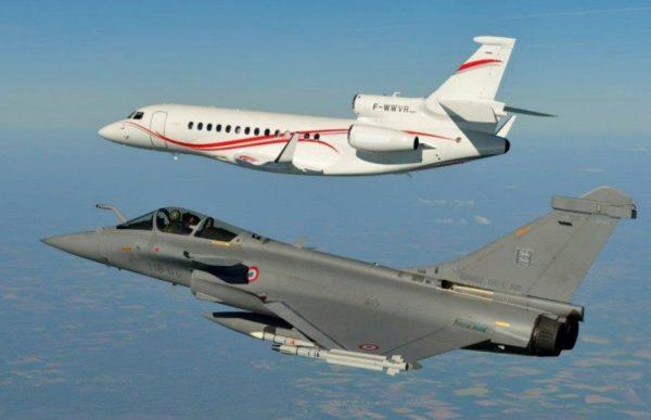 Rafale et Falcon 7X, le savoir faire de Dassault Aviation.