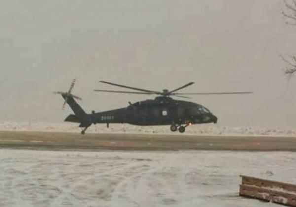 Harbin Z-20, la presque-copie chinoise du Sikorsky S-70.
