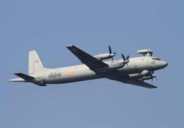 L'Il-38 May, toujours omniprésent dans les rangs indiens.