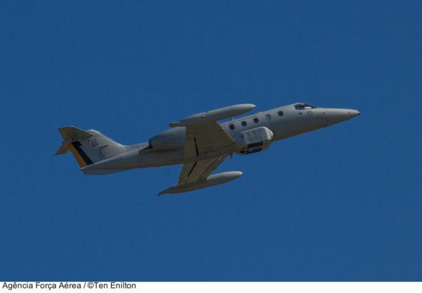 Learjet R-35A.