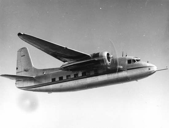 Prototype du Lockheed L-75 Saturn en vol.