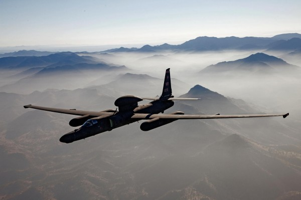 Le Lockheed U-2S dans son élément naturel, c'est à dire au-dessus des nuages.