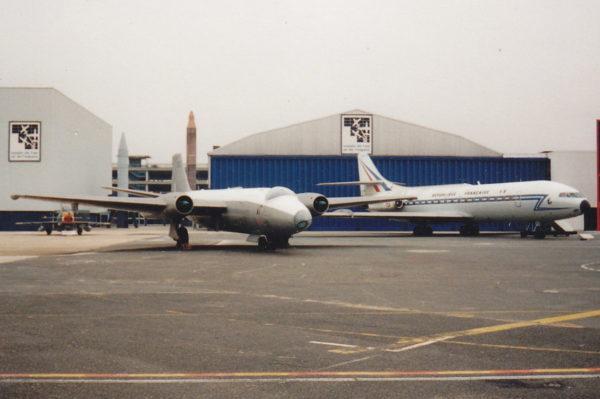 Canberra, Caravelle, et G91, la guerre froide au Bourget.