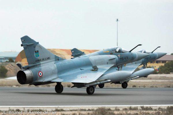 Dassault Mirage 2000C en mars 2014 au TLP.