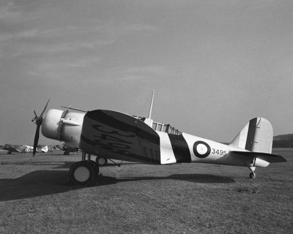 Un Northrop Nomad sous livrée canadienne durant la Seconde Guerre mondiale.