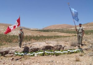 ONU Memorial UNEF Vol