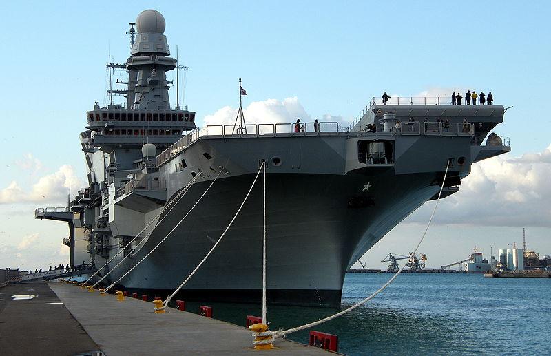 Roi baudouin le futur porte avions de la marine belge for Porte italiano