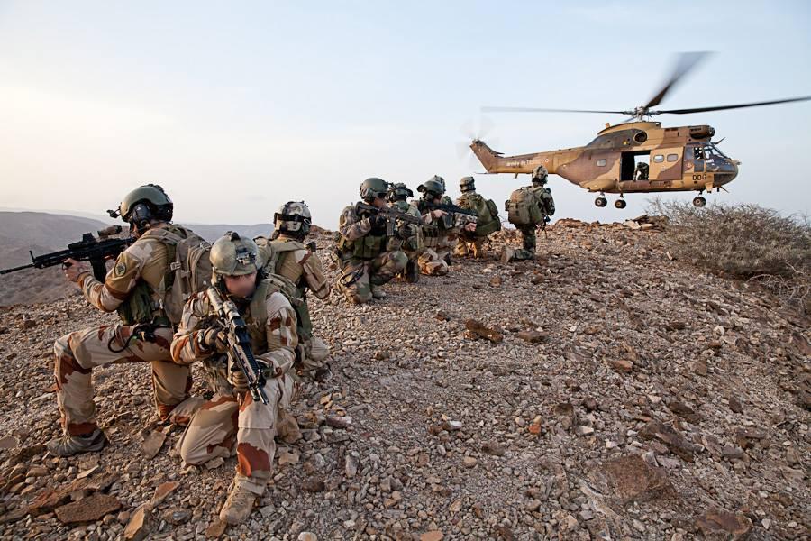 Les Forces Sp 233 Ciales Fran 231 Aises S Entra 238 Nent 224 Djibouti
