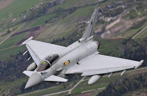 Typhoon F Mk-2, le défenseur des cieux britanniques.