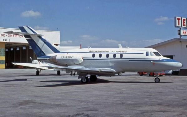 SAGQ Hawker Siddeley HS-125-1A CF-PQG