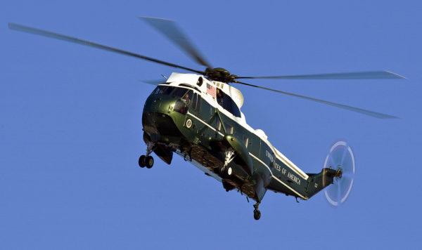 Un Sikorsky VH-3D en approche finale.