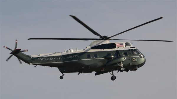 Marine One, ici un Sikorsky VH-3D.