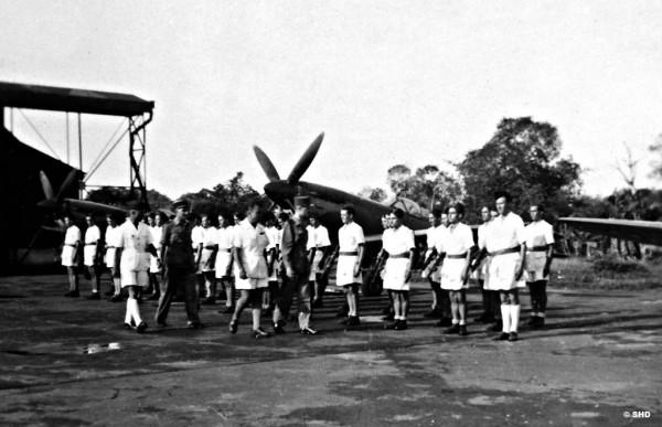 Le Spitfire est encore très présent, notamment dans les colonies.
