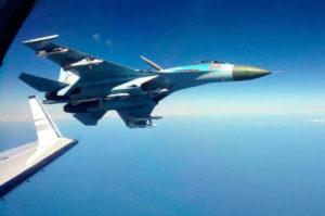 Su-27-intercept