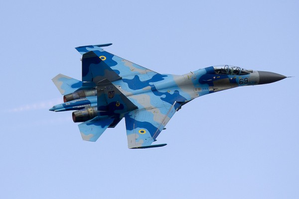 La chasse ukrainienne, et notamment ses Flanker, pourrait représenter un danger réel pour l'aviation russe.