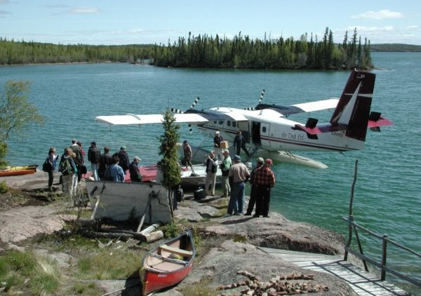 Twin Otter Air Tindi Blachford Lake